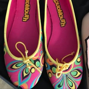 Loudmouth Multicolored ballets yellow Trim